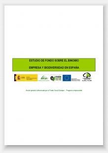 Estudio sobre el binomio empresa y biodiversidad en España