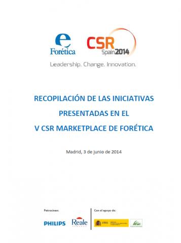 Buenas prácticas en materia de biodiversidad en el V CSR MarketPlace