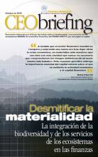 La integración de la biodiversidad y de los servicios de los ecosistemas en las finanzas